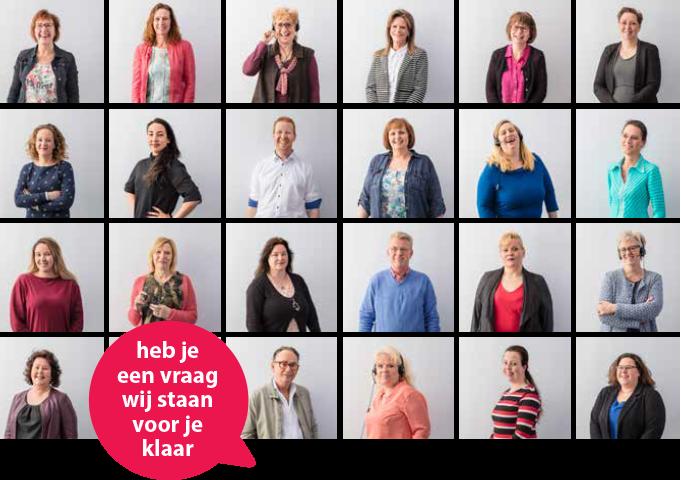 Afbeelding van het Tele-Sales Direct team