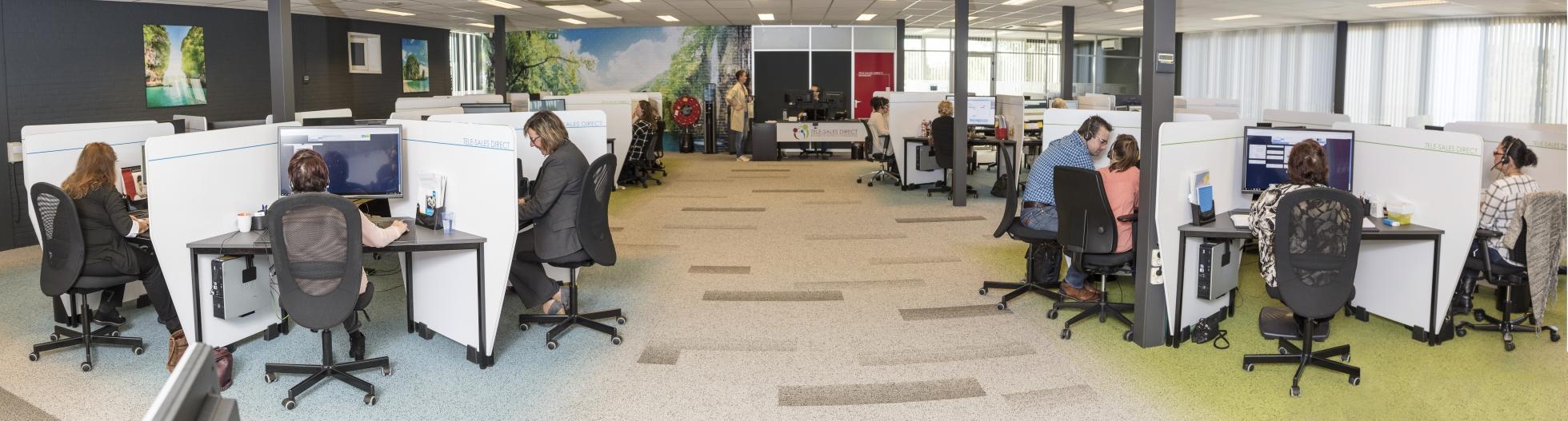Foto van de werkplek Tele-Sales Direct